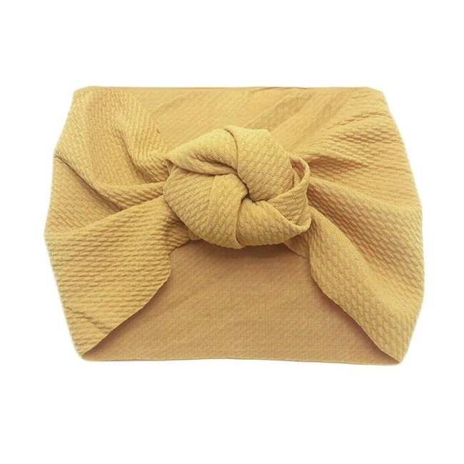 Haarband Knotted Yellow