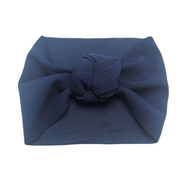 Haarband Knotted Blue