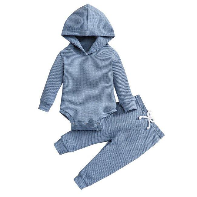 Setje Hoodie Noan Blue