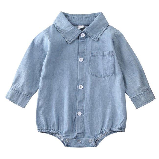 Body Longsleeve Denim Shirt