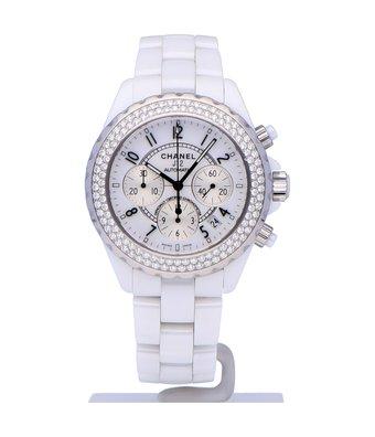 CHANEL Horloge J12 White H1008OCC
