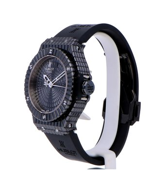 Hublot Big Bang 41mm Caviar Ceramic Black Caviar 346.CX.1800.RX