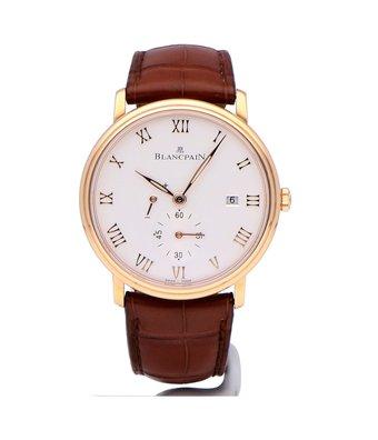 Blancpain Horloge Villeret 40mm Ultra Slim 6606-3642-55B