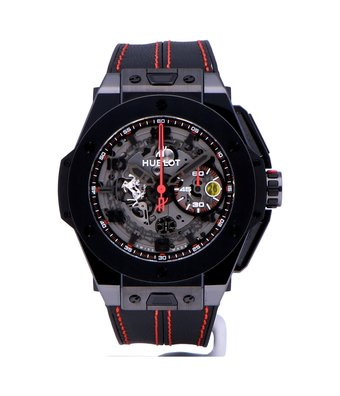 Hublot Horloge Big Bang Ferrari 45mm Speciale Ceramic 401.CX.0123.VR