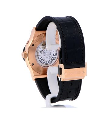 Hublot Horloge Classic Fusion 45mm Aerofusion Moonphase King Gold 517.OX.0180.LR