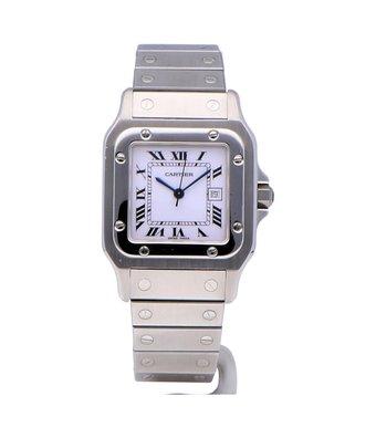 Cartier Horloge Santos Galbée XL W20098D6OCC
