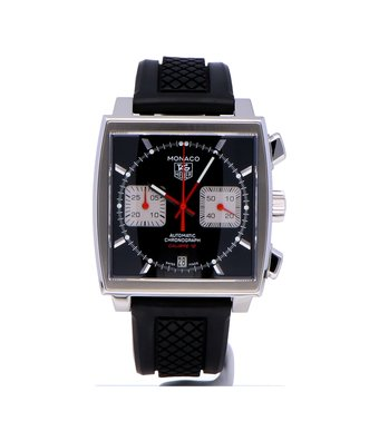 TAG Heuer Horloge Monaco 39mm Chronograph CAW2114.FC6177OCC