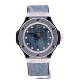 Hublot Horloge Big Bang 41mm Jeans WTY16 343.SX.2719.NR.WTY16