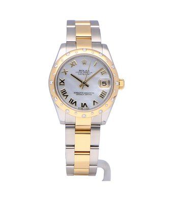 Rolex Horloge Oyster Perpetual Classic Datejust 31 178343OCC