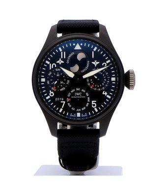 IWC Horloge Big Pilot's Watch 48mm Perpetual Calendar Top Gun IW502902OCC
