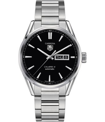 TAG Heuer Horloge Carrera 41mm Calibre 5 WAR201A.BA0723