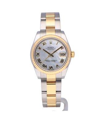 Rolex Horloge Oyster Perpetual Classic Datejust 31 178273OCC