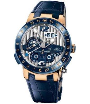 Ulysse Nardin Horloge Executive 43mm El Toro Perpetual GMT 326-00