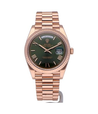 Rolex Horloge Oyster Perpetual Classic Day-Date 40 228235OCC