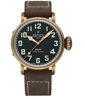 Zenith Horloge Pilot 45mm Type 20 29.2430.679/21.C753