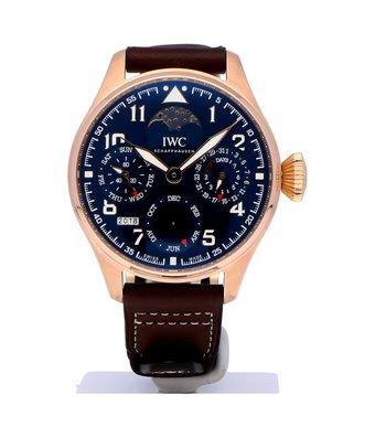 IWC Horloge Big Pilot's Watch Perpetual Calendar Le Petit Prince Limite 270st IW502802OCC