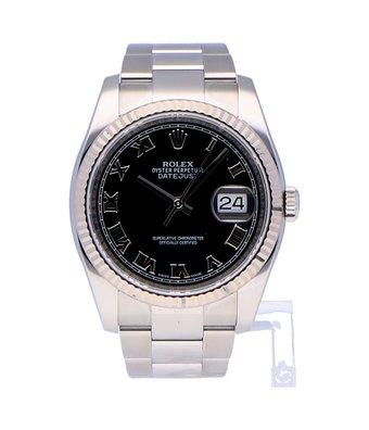 Rolex Horloge Oyster Perpetual Classic Datejust 36 116234OCC