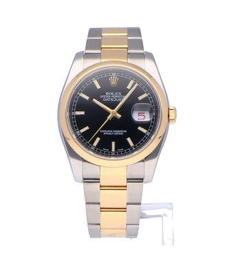 Rolex Horloge Oyster Perpetual Classic Datejust 36 116203OCC