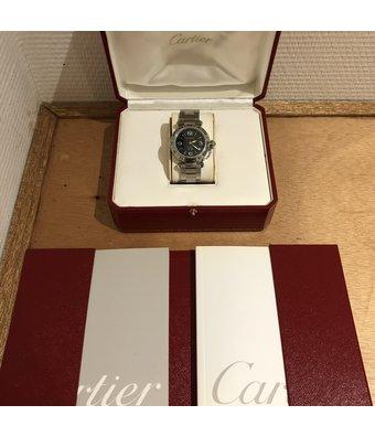 Cartier Pasha C Two Times Zones W31049M7OCC