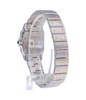 Cartier Horloge Santos Galbée Galbée 1567OCC