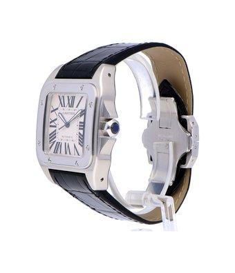 Cartier Horloge Santos 100 LM W20073X8OCC