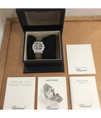 Chopard Horloge Happy Sport Medium Round 278477-3001OCC