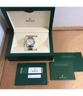 Rolex Horloge Oyster Perpetual Classic Date 34 115234OCC