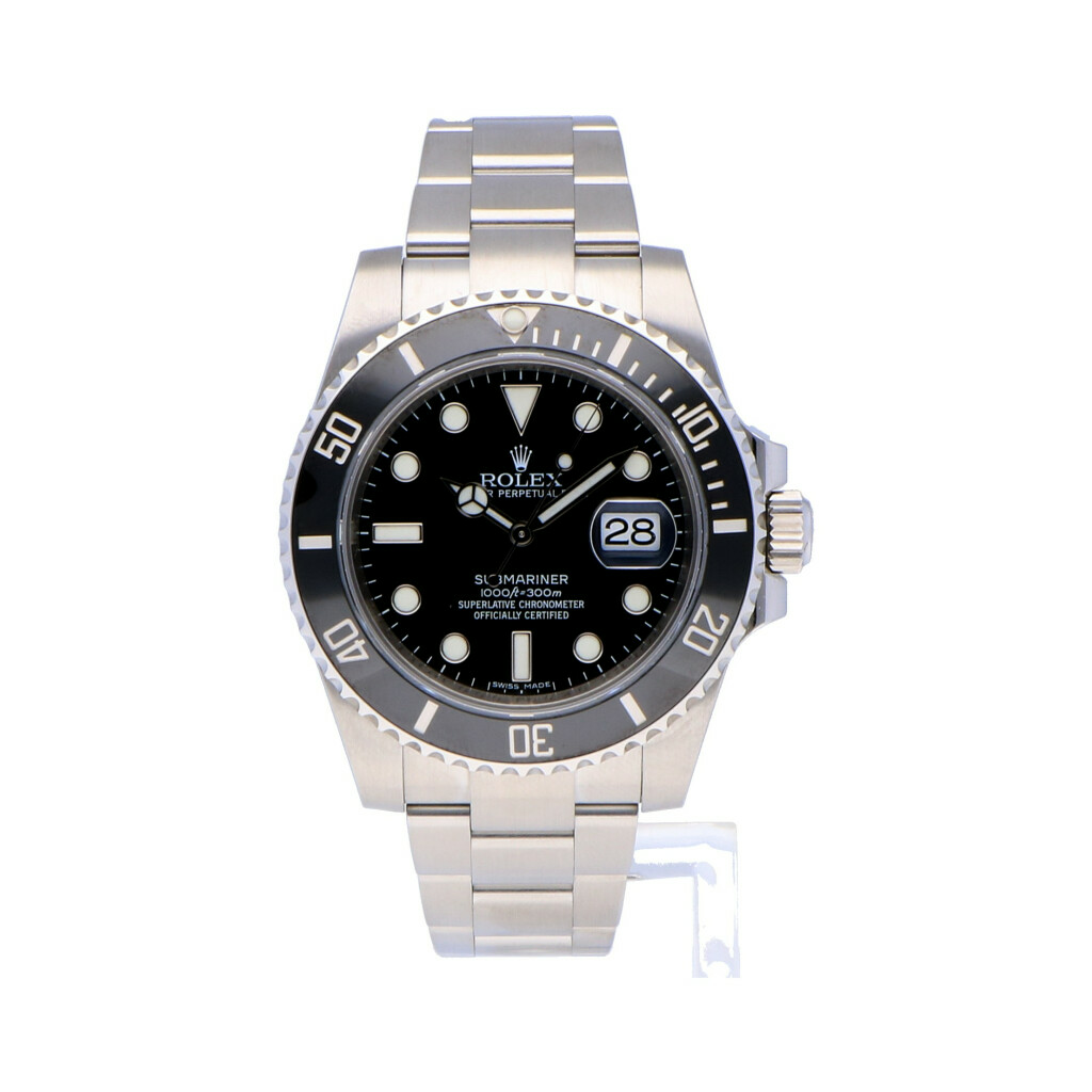 Pre-owned Rolex Horloge Oyster Perpetual Professional Submariner Date 116610LN