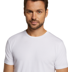 Bamboo Basics RUBEN 2-pack T-shirt O-neck white
