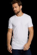 Bamboo Basics RUBEN 2-pack T-shirt O-hals wit