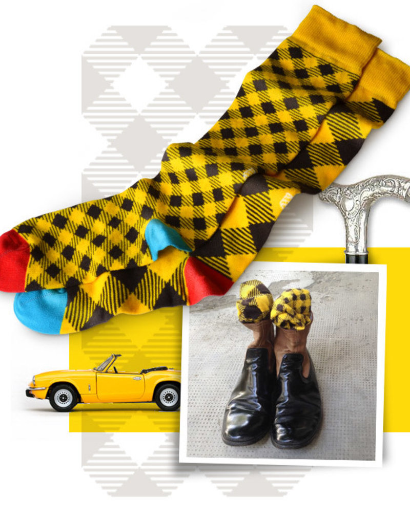 OYBO sock Amber Picnic