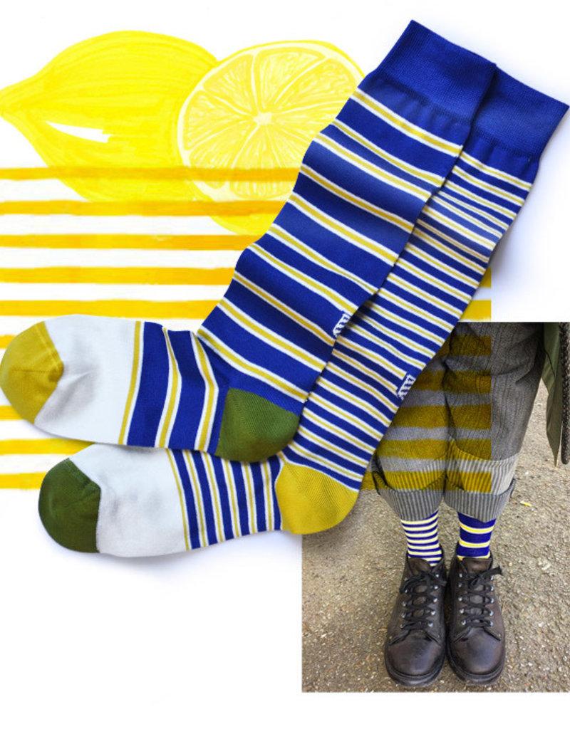 OYBO sock Baton Yellow
