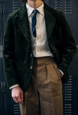 Motiv Sack jacket corduroy green