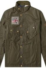 Barbour International Steve McQueen wax jacket olive