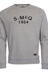 Barbour International Steve McQueen Raceway sweater grey