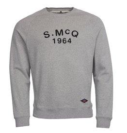 Barbour International Steve McQueen Raceway sweater grey