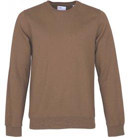 Colorful Standard Sweater Classic Organic Crew Sahara Camel