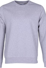 Colorful Standard Sweater Classic Organic Crew Heather Grey