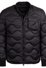 Barbour International Synon Quilt Black Bomberjacket