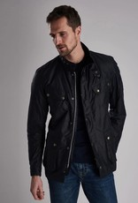 Barbour International Duke wax jack navy