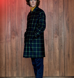 Man 1924 Paddington Coat Tartan