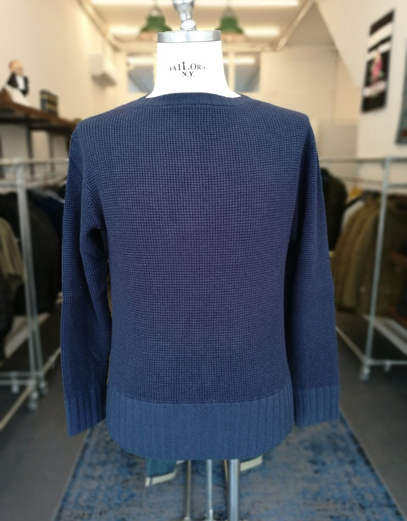 Motiv Boatneck knit navy