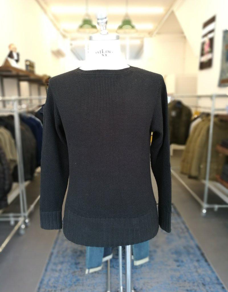 Motiv Boatneck knit black
