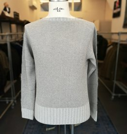 Motiv Boatneck knit dove