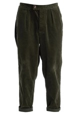 Barbour rugby pant cord green