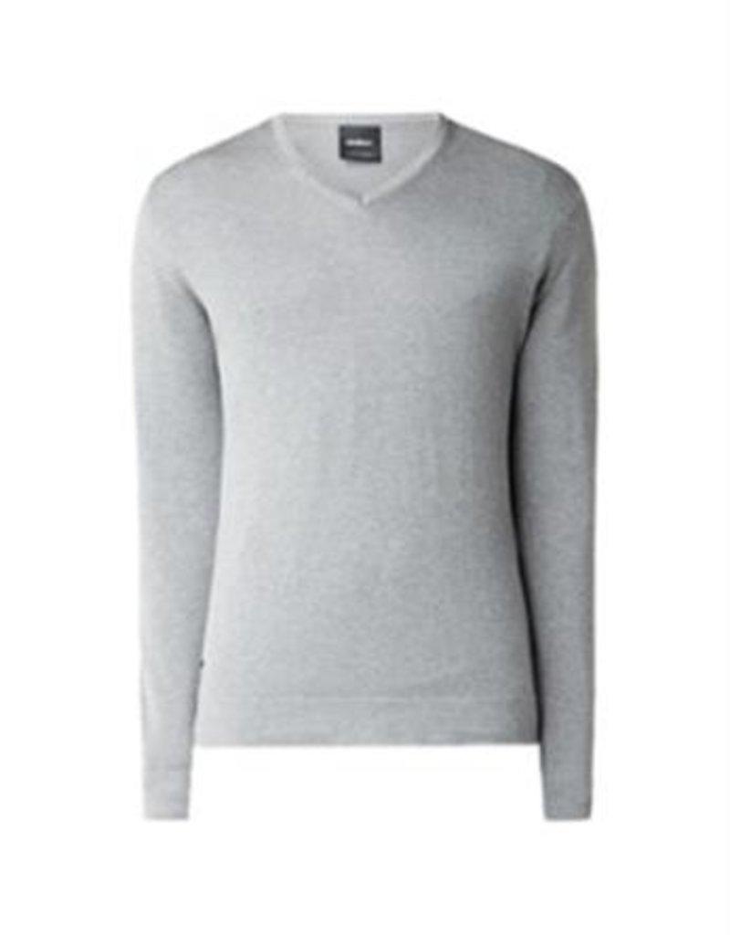 Strellson K-Martin V-neck grey