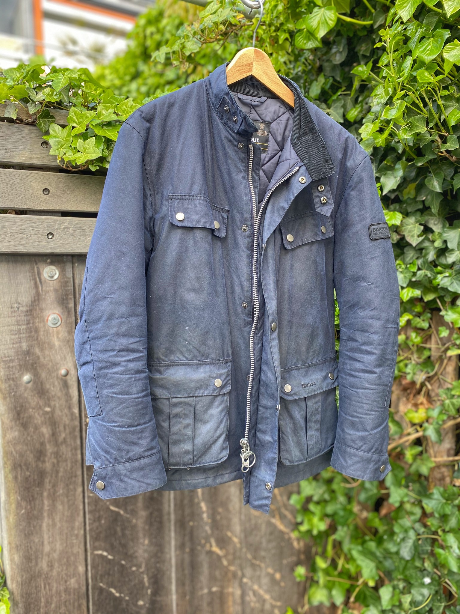 Ben's Barbour International Duke wax coat