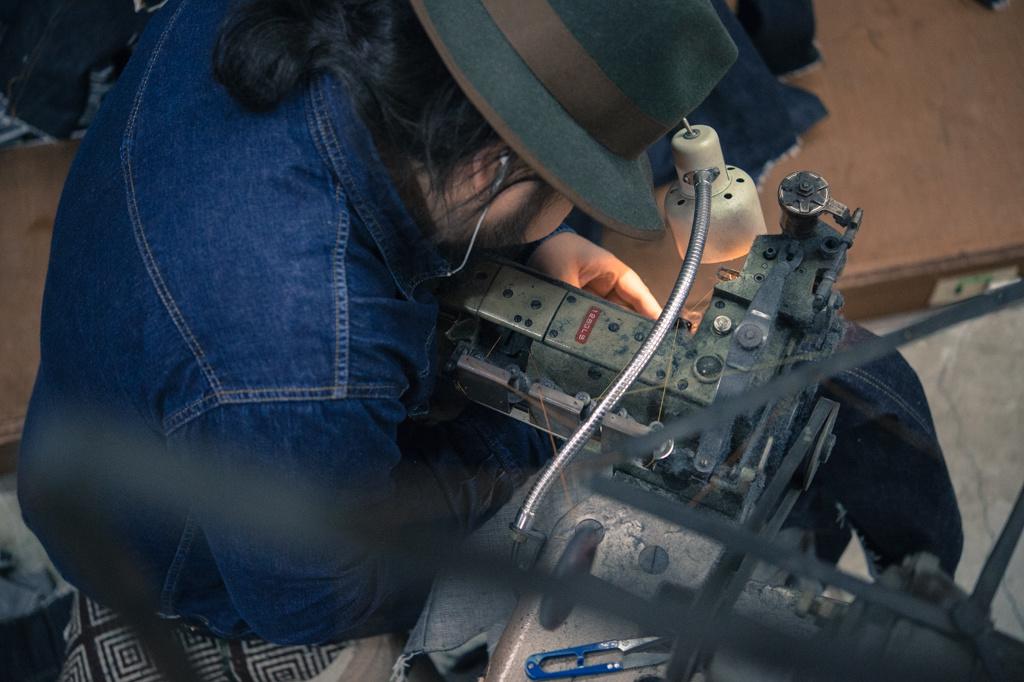 Hajime Inoue, maker of TCB Jeans