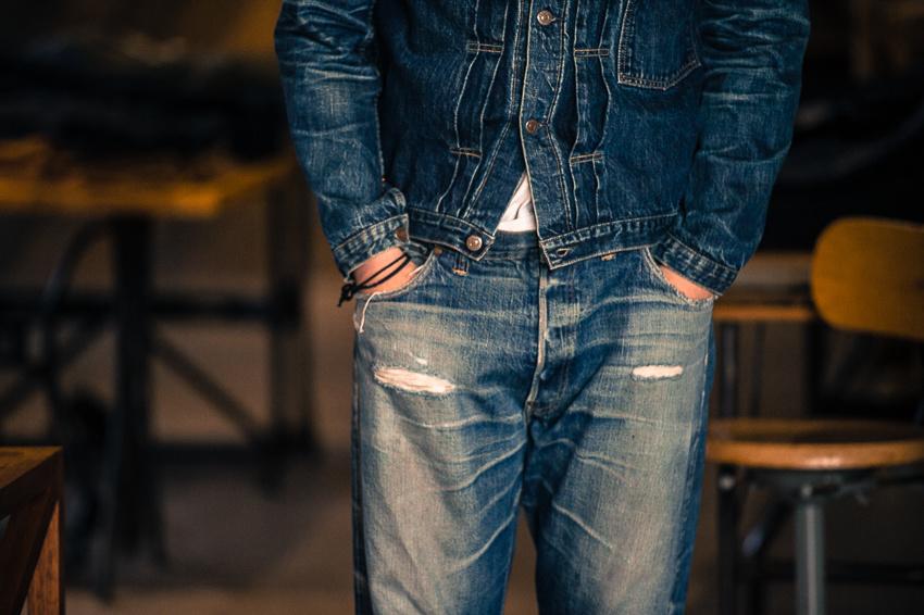 TCB Jeans fades