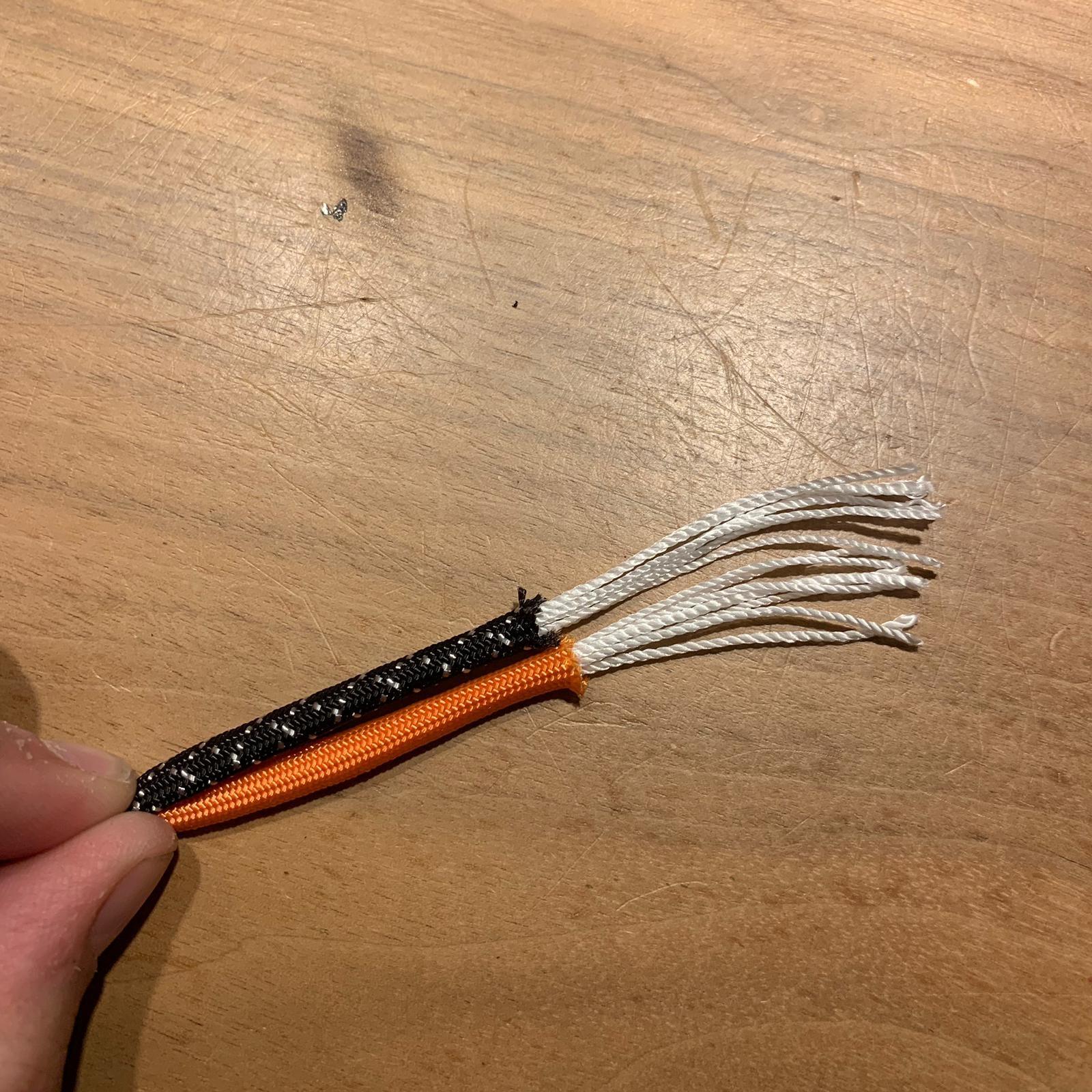 Paracord Zecken Halsband EM Keramik